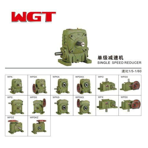 WPWD40 ~ 250 Worm Gear Reducer