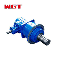 P series hollow shaft output gear motor-P