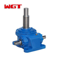 JWM / B series 25KN worm gear worm manual lifting jack with motor, used for lifting table or press