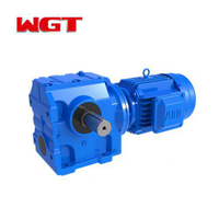 SA107 / SAF107 / SAZ107 ... Helical gear worm gear reducer (without motor)