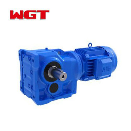 K47 / KA47 / KF47 / KAF47 helical gear quenching reducer (without motor)