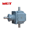 T series right angle spiral bevel 2 extension shaft reducer T2-25