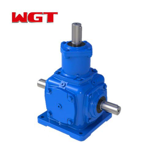 T series spiral bevel gear 2-way reducer T2-25