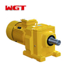 R167 / RF167 / RS167 / RF167 helical gear quenching reducer (without motor)