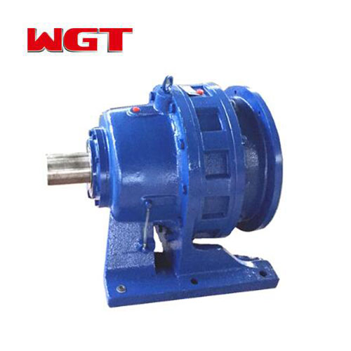 BWD cycloid gear reducer motor reducer gear box right angle T-shaped gear reducer 1: 1 ratio. 21 Hp inch